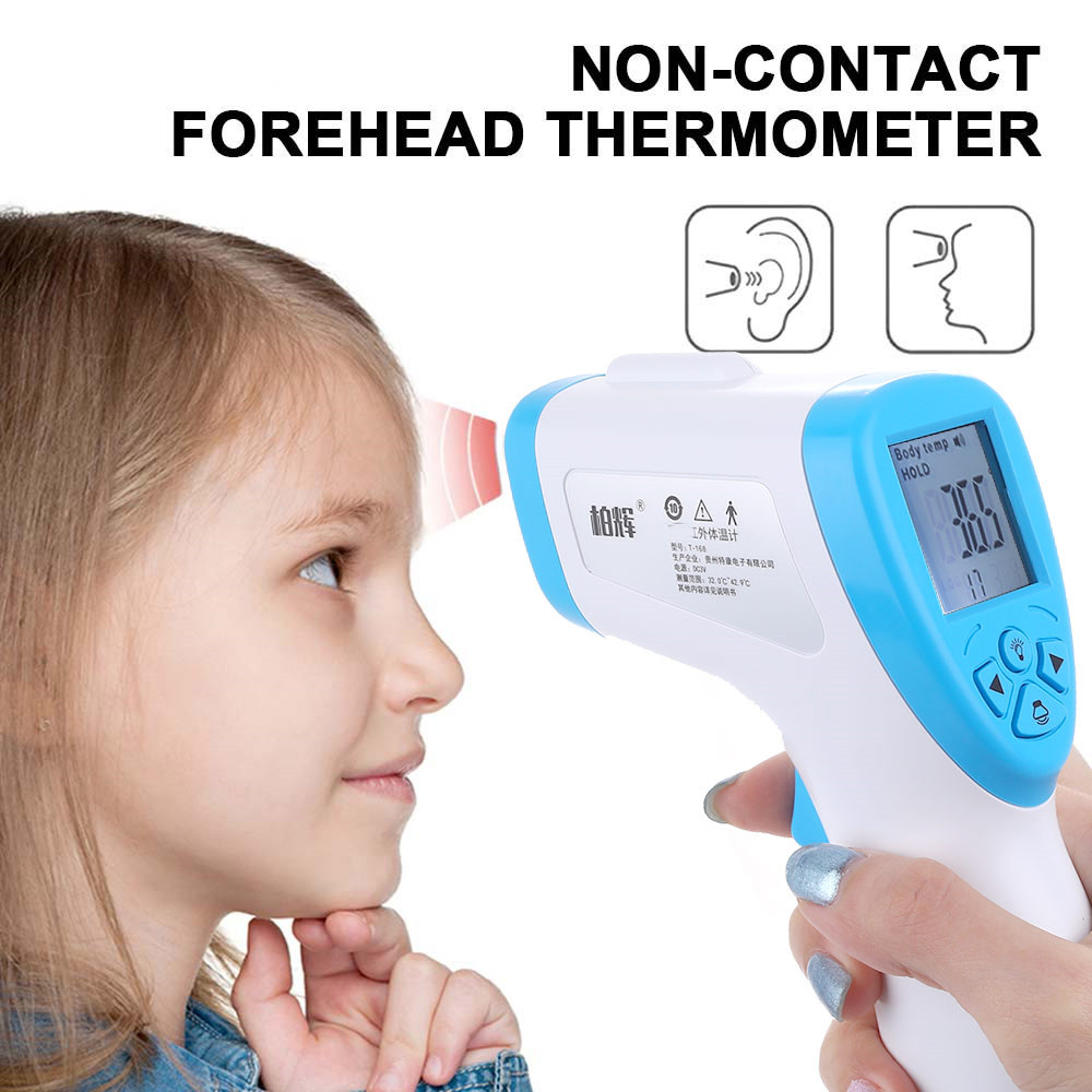 CE Certification Baby/Adult Digital Thermometer Infrared Forehead Body Thermometer Non-contact Temperature Measurement Device