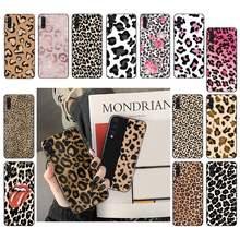 Moda de luxo macio voltar casos leopard impressão caso do telefone capa do telefone para samsung galaxy a 51 50 30 31 21s 70 20e 71 5g funda