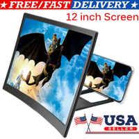 3D Handy Bildschirm HD Lupe Video Verstärker Smartphone Ständer Halterung 12 zoll Telefon Verstärker Halter