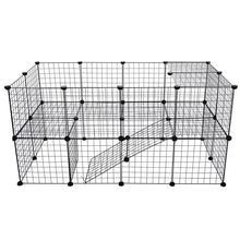 DIY Pet Fences Dog Cage Playpen Iron Net Cat Puppy Kennel Ho