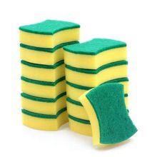 30pcs Dishwashing Sponge Kitchen Nano Emery Magic Clean Rub Pot Rust Focal Stains Sponge Removing Kit Cleaning Brush Sponges