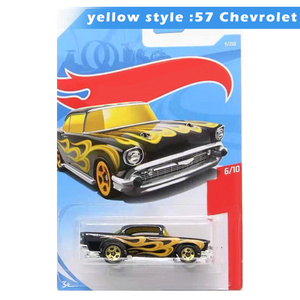 Hot Wheels 1:64 Scale Car Model Collection Alloy Car Toys For Boys Kids Adult Gifts AN88(China)