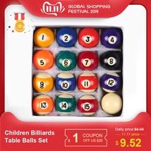 25 мм/38 мм Детские бильярдные настольные мячи, набор из смолы, полиэстера, смолы, маленький бильярдный кий, полный набор, лидер продаж