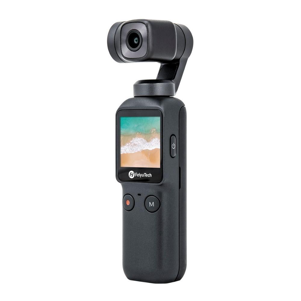 Feiyutech Official Feiyu Pocket Camera 6-Axis Stabilized Hybrid Stabilization 4K 60fps 270 Mins Handheld Gimbal 3