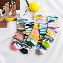 For Lilo 18 Pairs Personality Women Fashion G Socks Q1001