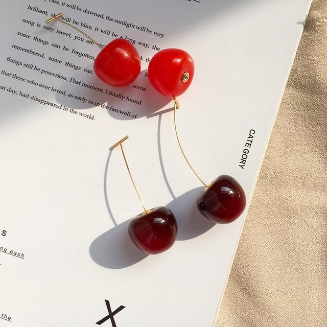 New Fashion 2020 Earrings Women Girls Resin Cute Round Dangle Red Cherry Fruit Earrings Jewelry Gift.jpg 640x640 - New Fashion 2020 Earrings Women Girls Resin Cute Round Dangle Red Cherry Fruit Earrings Jewelry Gift