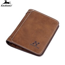 Men Wallet Leather ID Credit Card Holder Clutch Coin Purse Luxury Brand Wallet Frosted Short Wallets Men Wallet Coin Pocket 2021