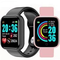 Reloj inteligente Digital Y68 para hombre, pulsera electrónica con Bluetooth, para Fitness, Hodinky