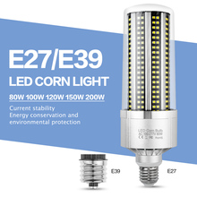 Led Lamp Corn Light E27 Led Bulb 220V Chandelier Super Bright Warehouse Lighting Led E39 E40 150W 200W Basement Factory Lights