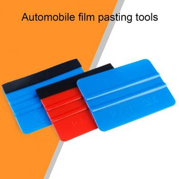 Squeegee Tool Portable Felt Edge PP Cleaning Scraper for Car Auto Squeegee Tool Portable Felt Edge PP Cleaning Scraper for Car A image