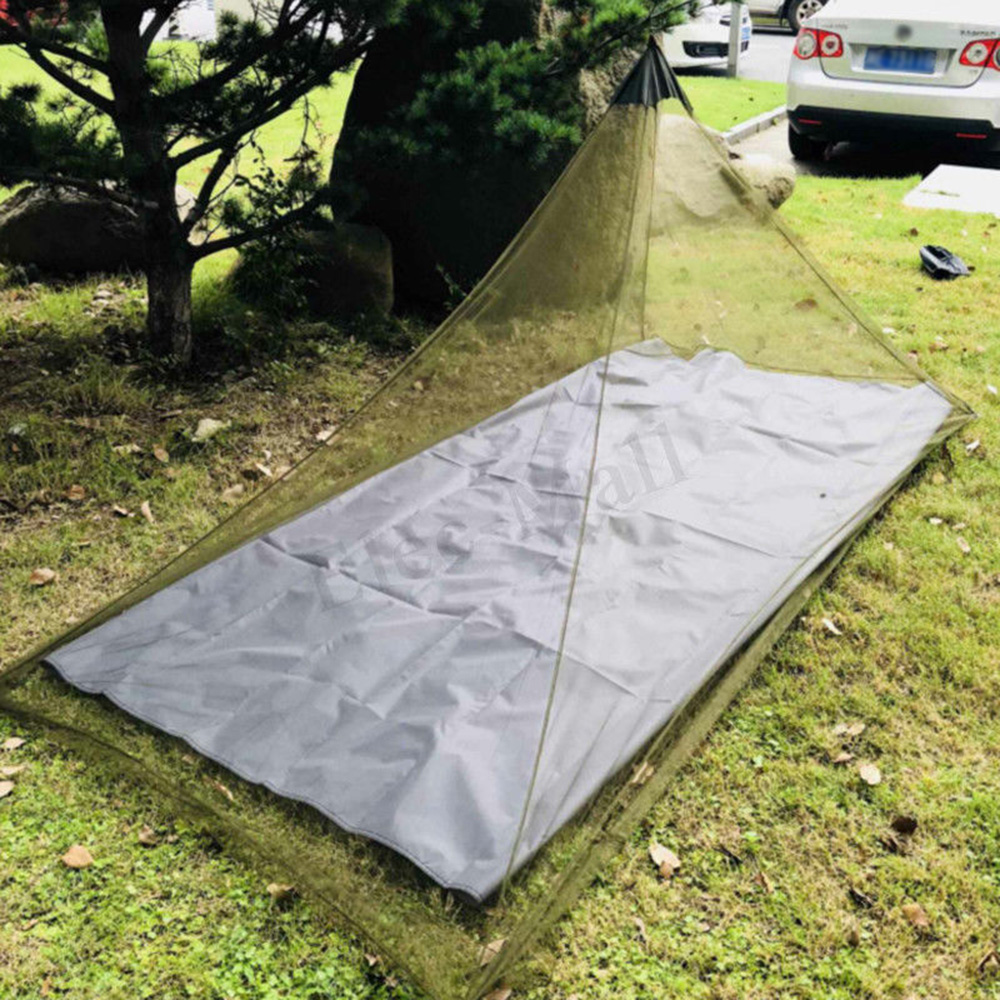Camping Mosquito Insect Net Outdoor Canopy Fit Travel Sleep Tent Netting Cover