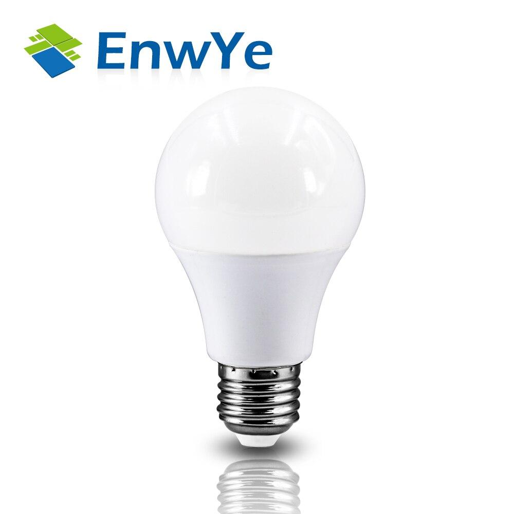 Светодиодная лампа EnwYe E27, E14, 220 В, 240 в, 20 Вт, 24 Вт, 18 Вт, 15 Вт, 12 Вт, 9 Вт, 6 Вт, 3 Вт