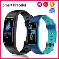 Smart Band Watch uomo donna pressione sanguigna bracciale sano pedometro cardiofrequenzimetro polsino Fitness impermeabile