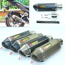 20 sztuk partia uniwersalny motocykl zmodyfikowany skuter rura wydechowa GY6 CBR CBR125 CBR250 CB400 CB600 YZF FZ400 Z750 ładny dźwięk tanie i dobre opinie CKINNFON CN (pochodzenie) 1inch 16cm 38cm 1 6kg 12cm 2333 Iso9001