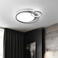 Chandelierrec Modern LED chandeliers round circle lamp bedroom living dining room AC85 265V home lighting Ceiling Chandeliers