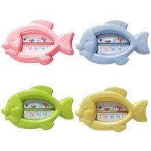 Милый маленький мультяшный игрушечный термометр в форме рыбки для ванны для детей ясельного возраста, детская душевая ванна для влажной и сухой безопасности, инструмент для тестирования температуры