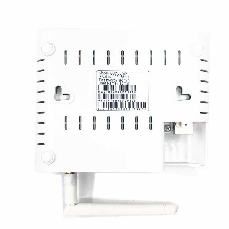 ONU EPON 1.25G GPON 2.5G XPON (1.25g/2.5g) ONU مع wifi شبكة FTTH onu مودم شبكة WIFI 10/100/1000M RJ45 wifi 2.4G ل OLT التبديل