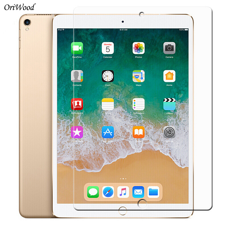 Tempered Glass For Apple IPad Pro 9.7 10.5 12.9 IPad 2019 2017 2018 Tablet Screen Protector 9H Toughened Protective Film Guard