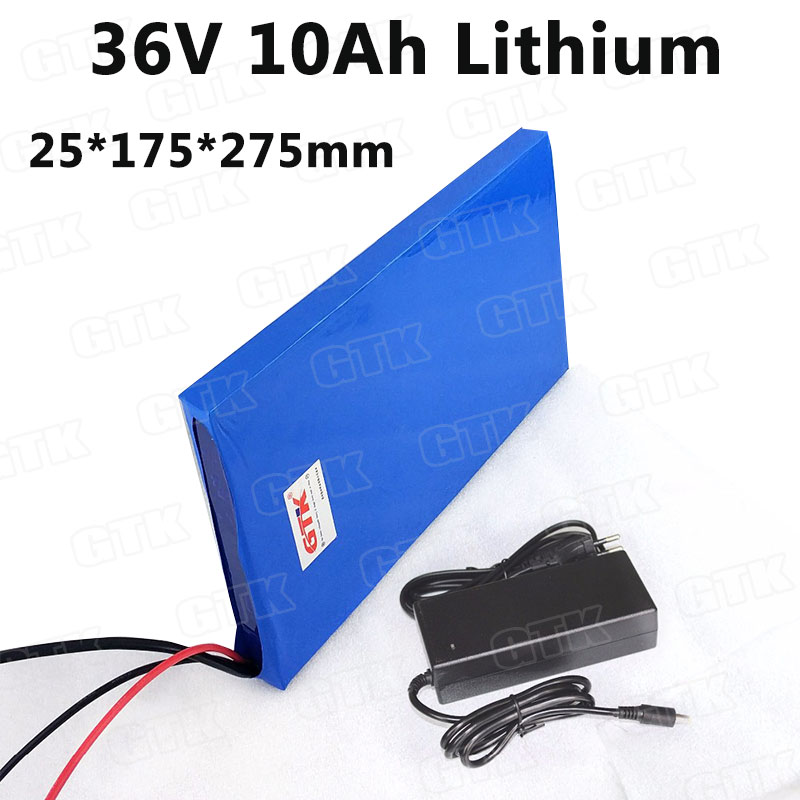 Lithium battery 36V 10Ah li-ion battery pack 36v for electric motorcycle power skateboard 36v electric scooter battery + charger
