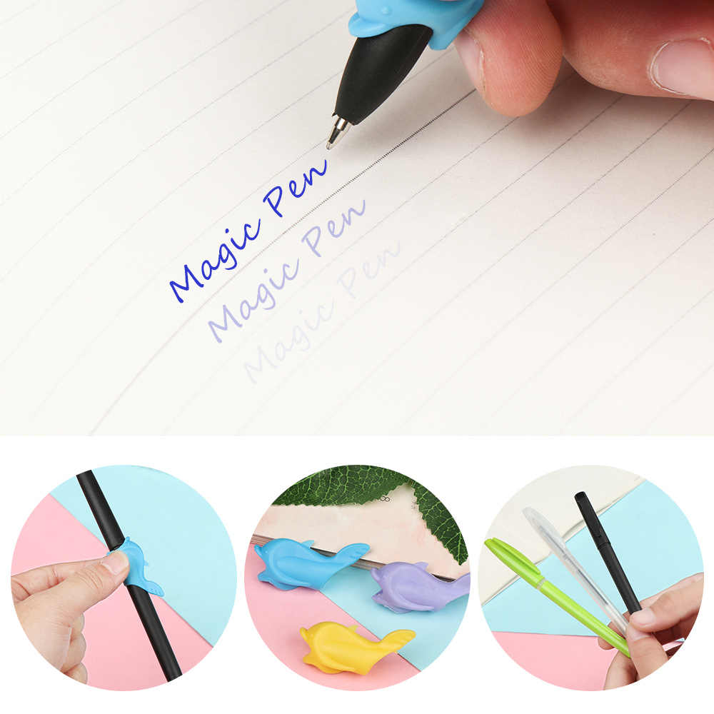 Blue Magic Pen Kit Disappearing Refill Invisible Ink Automatic Fade Pen