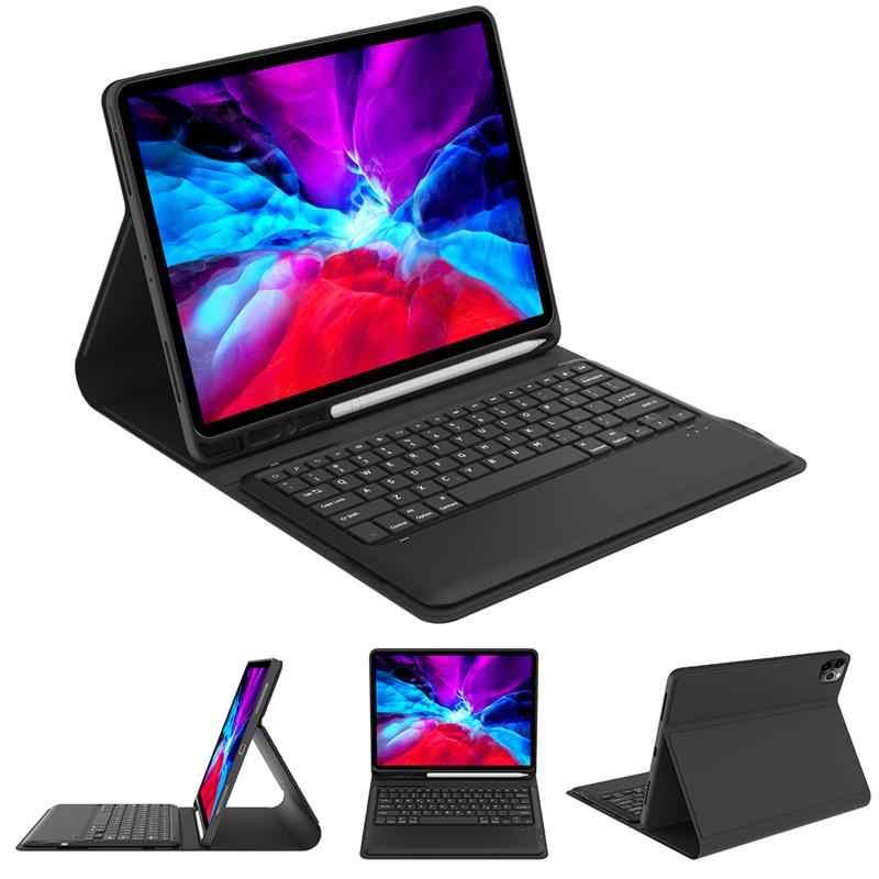 Per iPad Pro 12 9 Custodia con Tastiera 2020 USA Tedesco Tastiera Staccabile di Bluetooth Per iPad Pro 11 12.9 Tablet cassa della tastiera
