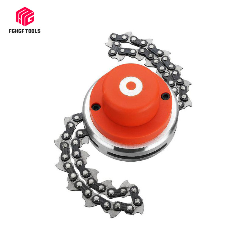 FGHGF Universal Mower Chain 65Mn Lawn Grass Trimmer Head Chain Brushcutter For Garden Trimmer Grass Cutter Spare Parts Tools