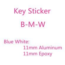 20pcs B-MW 11mm 1.1 centímetros Remoto Chave Emblema Logotipo Etiqueta de Substituição para E46 E39 E38 E90 E60 E36 F30 E34 F10 F20 E92 E91 E53 X3 X5