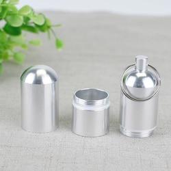 Étui à cigarettes en métal Portable personnalisé avec porte-clés étanche à l'humidité et résistant à la pression Mini étui à cigarettes pour hommes