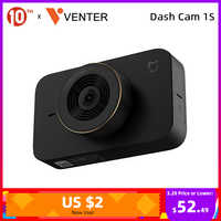 Xiaomi Mijia Dash Cam 1S Auto Kamera WIFI Voice Control Fahren Video Recorder Dashcam 1080P HD 140 ° weitwinkel 3 Zoll Bildschirm