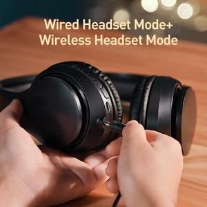 Image 4 - Baseus D07 Wireless Headphone Bluetooth 5.0 Earphone Handsfree Mega Bass Headset Ear HeadPhone For iPhone Xiaomi Huawei Earpiece