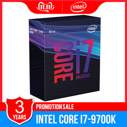 Original Intel Core i7-9700K Desktop Processor 8 Cores up to 3.6 GHz Turbo Unlocked LGA1151 300 Series 95W desktop cpu