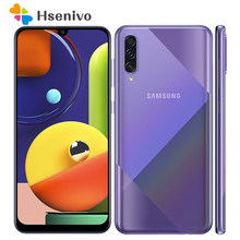 Samsung galaxy a50s a507f remodelado-telefone móvel original android 6.4