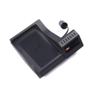Image 3 - 15W Drahtlose Auto Ladegerät für GLC16 20 C Klasse GLC Zubehör Adapter Lade