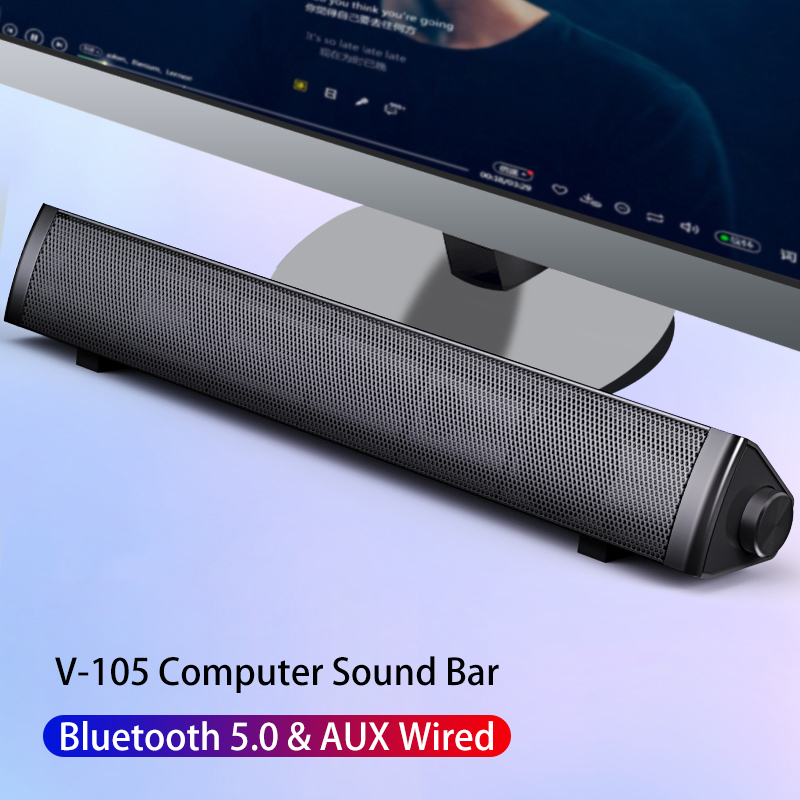 Subwoofer Computer Speakers Bluetooth Speaker Sound Bar For Computer PC Laptop USB Wired Music Player Home Theater System