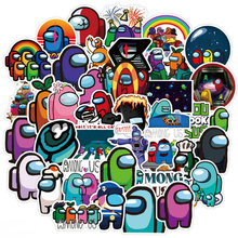 50pcs Cartoon Game Among Us Stickers Graffiti Sticker For Laptop Cars Motorcycles Cups