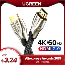 Ugreen HDMI Cable 4K HDMI to HDMI 2.0 Cable Cord for PS4 Apple TV 4K Splitter Switch Box Extender 60Hz Video Cabo Cable HDMI(China)