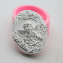 DIY Silicone Fondant Cake Cute Angel Cupid Soap Making Tools Chocolate Candly Clay Resin Mold Aromatherapy Decorating Crafts the chocolate cupid killings