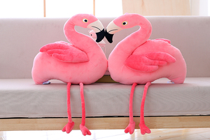Image 4 - חמוד רך פלמינגו סימולציה ציפור בפלאש צעצוע הילדה יום הולדת מתנת עיצוב הבית