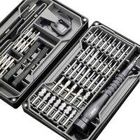 Quk-conjunto de chave de fenda magnética de precisão, 73 em 1, pontas hexagonais, catraca, reparo de celular, ferramentas manuais