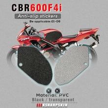 Motorrad kraftstoff tank pad tank grip schutz aufkleber knie grip seite applique für HONDA 01 06 CBR600F4i 02 13 VFR800