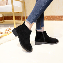 Liren 2019 New Spring/Autumn PU Fashion Casual Women Boots Lace-up Round Toe Ankle Lady Casual Boots Mesh Flat Heels Shoes стоимость