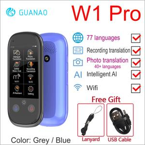Image 3 - Голосовой переводчик Boeleo K1 Pro, 2,4 дюйма, Wi Fi, 500мп