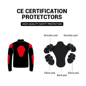 Image 5 - DUHAN Summer Motorcycle Jacket Men Breathable Mesh Riding Moto Jacket Motorcycle Body Armor Protector Moto Cross Clothing