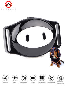 Dog-Tracker GPS Ip68-Collar Wifi Geofence Quick-Charge Waterproof LED Voice-Call Days