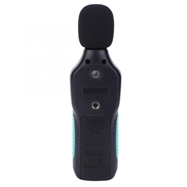 Miernik hałasu RM062 LCD cyfrowy miernik poziomu dźwięku Tester wykrywania szumów pomiar decybeli 30-130dB cyfrowy miernik poziomu dźwięku tanie i dobre opinie Sound Level Meter 30 ~ 130dB