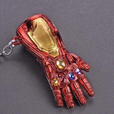 Металлический брелок Marvel, Мстители, Капитан Америка, щит, Человек-паук, Железный человек, маска, брелок, игрушки, Халк, Бэтмен, брелок, подарок, игрушки - Color: Maroon