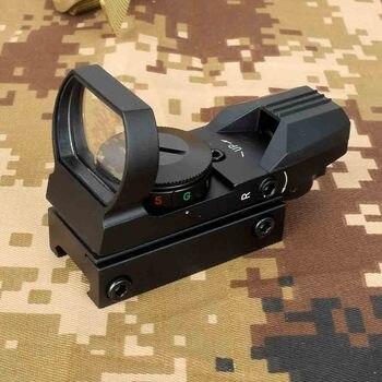 1x33 Tactical Fighter Holograficzny 4 Siatka Czerwona/zielona Kropka Reflex Luneta Zielona 20 Mm