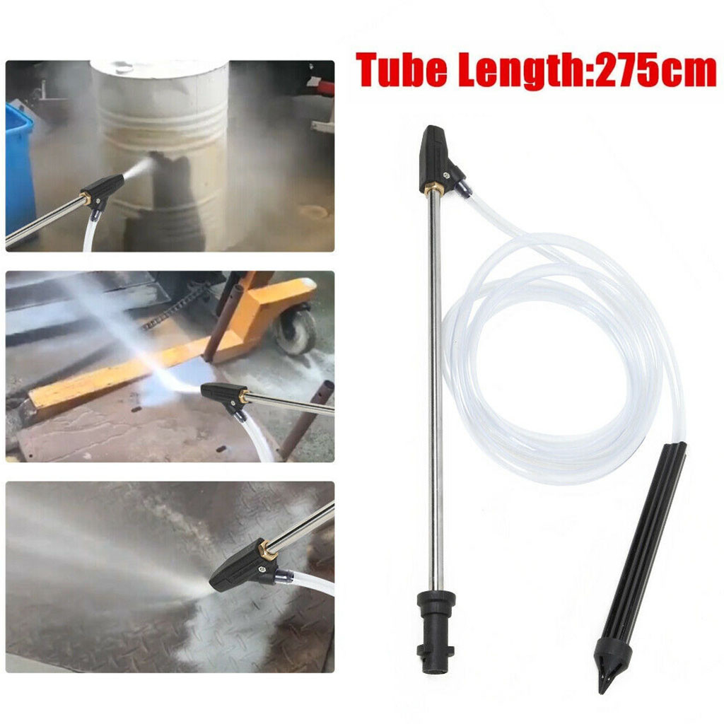 Sand Blasting Hose Wand Nozzle Gun Stable Pressure Washer Sandblasting Tube UK