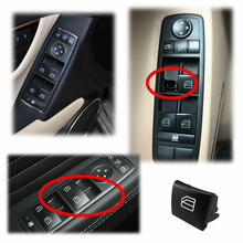 2PCS Black Car Accessories PAIR WINDOW REGULATOR CONTROL SWITCH BUTTON for benz For MERCEDES W169 A W245 B W164 ML CLASS new electric power window switch a1698206710 for mercedes benz b klasse w245 a 169 820 67 10 1698206710
