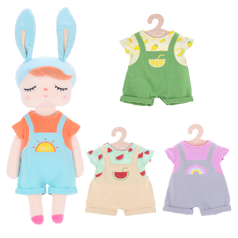 Metoo Plush Toys Dress Up Angela Dolls  With Box Dressing Doll Rabbit Cute Dreaming Girl Gift For Kids Children